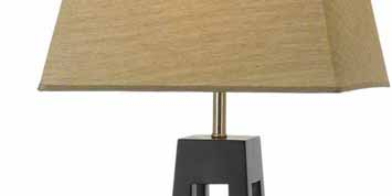 Table, Bedside and Floor Lamps