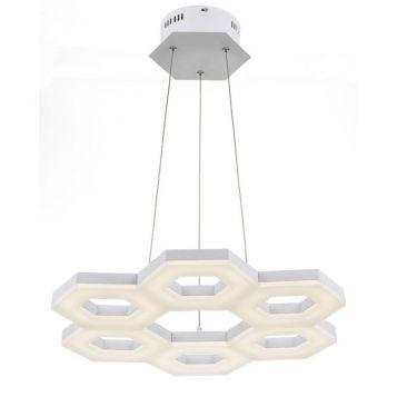 L2-1586 White LED Pendant Light