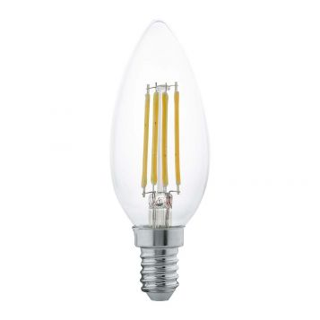 L2U-3128 4w Candle LED Filament Lamp - E14 Base