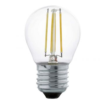 L2U-3130 4w Fancy Round LED Filament Lamp - E27 Base