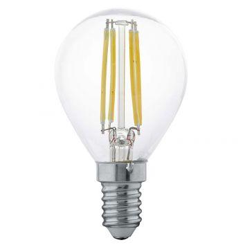 L2U-3131 4w Fancy Round LED Filament Lamp - E14 Base