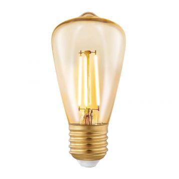 L2U-3116 3.5w Pear LED Filament Lamp - E27 Base