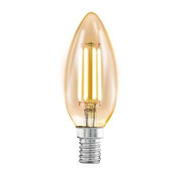 L2U-3120 4w Candle LED Filament Lamp - E14 Base