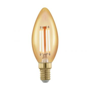 L2U-3112 4w Candle Dimmable LED Filament Lamp - E14 Base