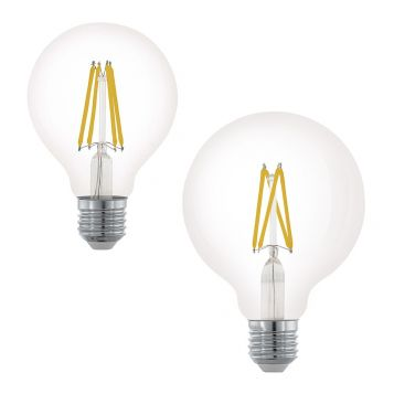 L2U-3123 6w Spherical Dimmable LED Filament Lamp Range from