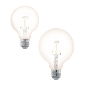 L2U-3124 4w Spherical Dimmable LED Filament Lamp Range from