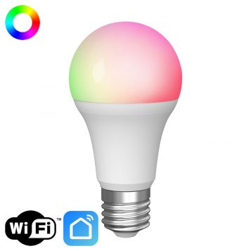 12w GLS A60 Smart RGBW+CCT Dimmable LED Lamp