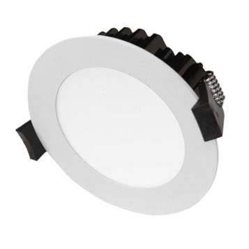 12w P121 Wide Beam Tri-Colour LED Downlight - White (120 Degree Beam - 1000lm)