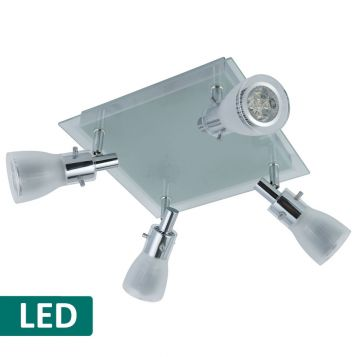 L2-326 11w LED Spotlight Range - 4 Light Square