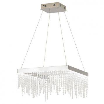 L2-1783 Square Crystal LED Pendant Light