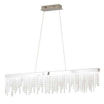 L2-1785 Linear Crystal LED Pendant Light