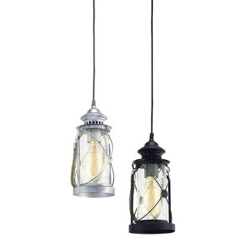 L2-1546 Traditional Lantern Style Pendant Light