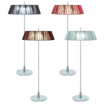 L2-5379 Silk String Shade Floor Lamp Range