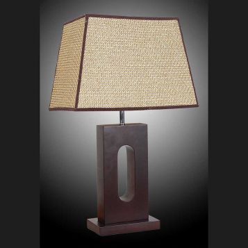 L2-5373 Timber Base Table Lamp