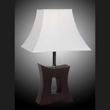 L2-5374 Timber Base Table Lamp