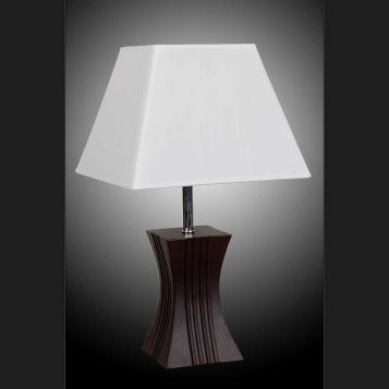 L2-5375 Timber Base Table Lamp