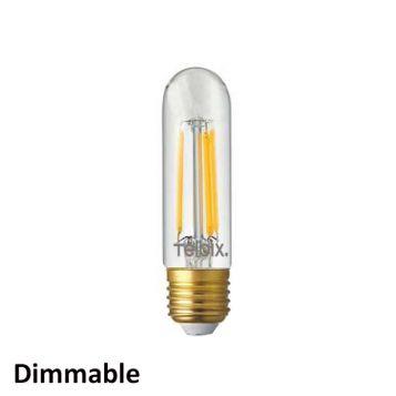 L2U-3190 5w Dimmable Tubular LED Filament Lamp - E27 Base