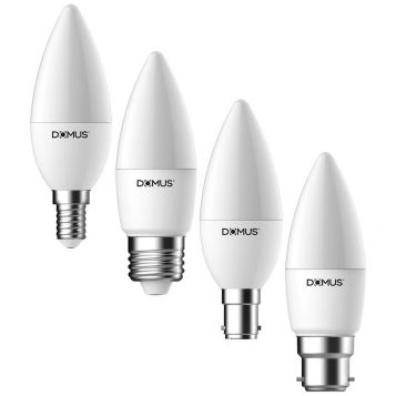 L2U-383 5.7w Dimmable Frosted Candle LED Lamp