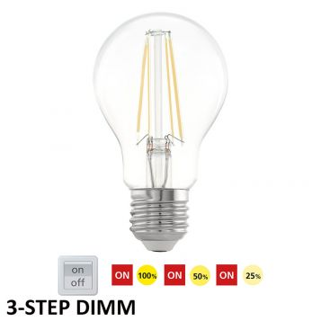 L2U-3177 6w GLS 3-Step Dimmable LED Lamp - E27 Base