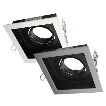 Square Slotter Downlight Frame