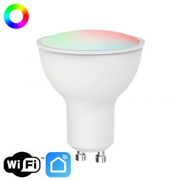 7w Smart RGBW+CCT GU10 Dimmable LED Lamp