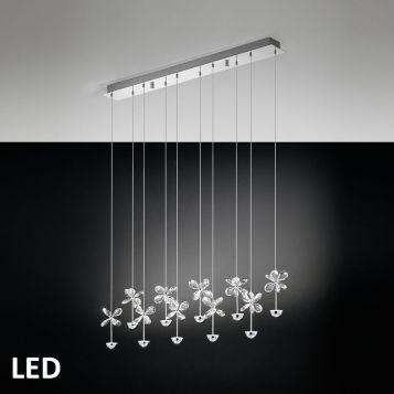 L2-1557 Crystal LED Pendant Light