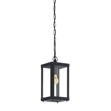 L2-11051 Black Exterior Pendant Light
