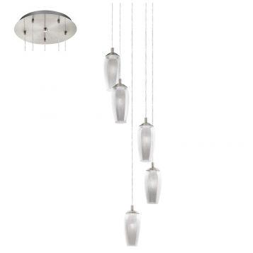 L2-1758 5 Light LED Pendant Light
