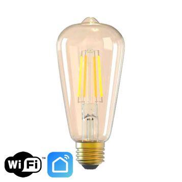 9w Pear ST64 Smart LED Filament Lamp - E27 Base