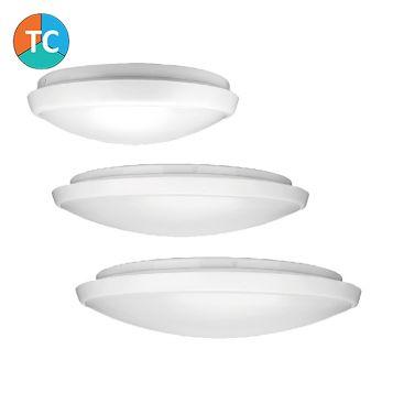L2U-9210 White Tri-Colour LED Oyster Light Range from