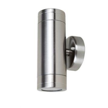 L2U-4100 Stainless Steel 240v Up/Down Wall Pillar Light
