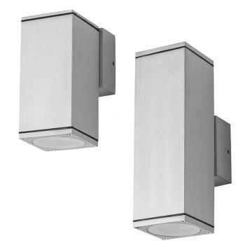L2U-4389 Exterior Aluminium Up/Down Wall Light Range from