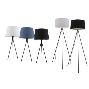 L2-5762 Tripod Table and Floor Lamp Range