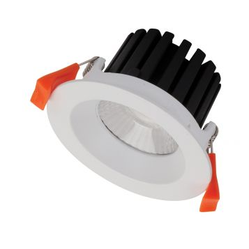 10w Aqua Fixed LED Downlight - White (60 Degree Beam - 980lm)