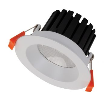 13w Aqua Fixed LED Downlight - White (60 Degree Beam - 1300lm)