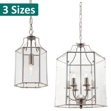 L2-1431 Clear Glass Pendant Light