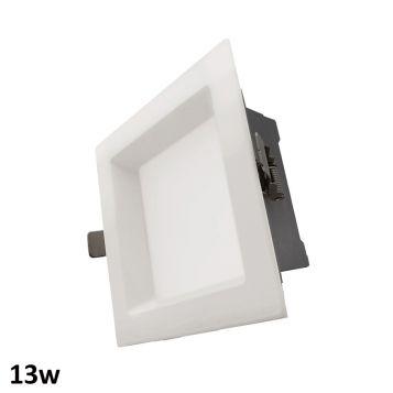 13w Aurora Square LED Downlight (90 Degree Beam - 910lm)