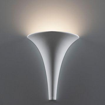 L2-6203 Ceramic Funnel Wall Light