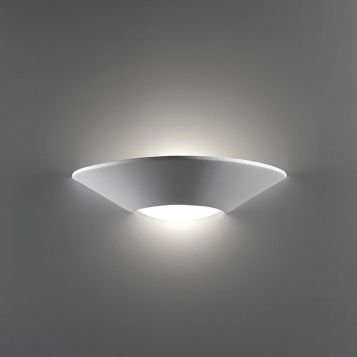 L2-6221 Ceramic Wall Light with Frosted Glass