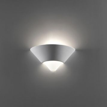 L2-6222 Ceramic Wall Light with Frosted Glass