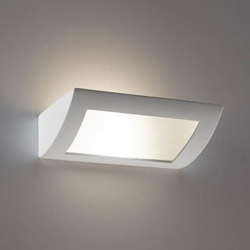 L2-6231 30cm Ceramic Frosted Glass Wall Light
