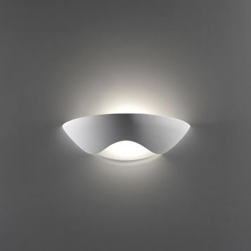 L2-6234 Ceramic with Frosted Glass Wall Light