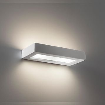 L2-6236 Ceramic with Frosted Glass Wall Light