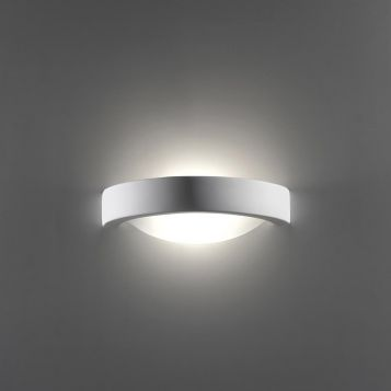 L2-6237 Ceramic Wall Light Complete with Frosted Glass