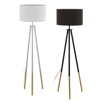 L2-5616 Wooden Tripod Floor Lamp Range