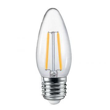 4w C35 Candle LED Filament Lamp - E27 Base