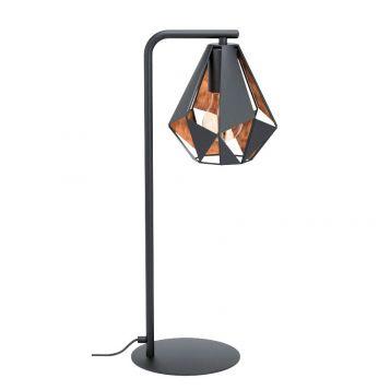 L2-5606 Black Steel Table Lamp