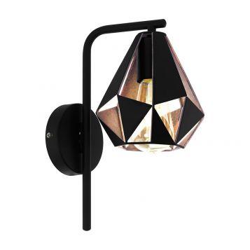 L2-6347 Black Steel Wall Light