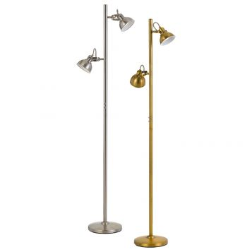 L2-5576 2-Light Floor Lamp Range with Individual Switches