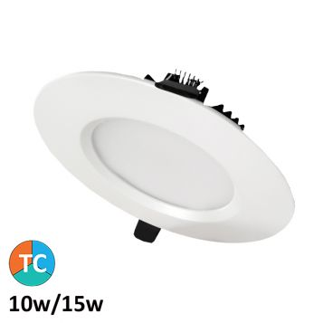 10w/15w Centauri Tri-Colour LED Downlight (100 Degree Beam - 1520lm)